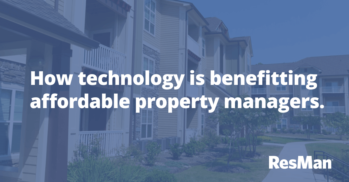Post Pandemic Technology Trends in Affordable Property Management